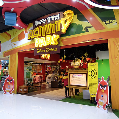 Vé Công Viên Angry Birds, Malaysia