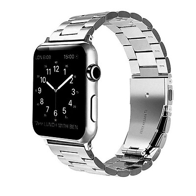 For iWatch Apple Watch Series 4 40mm/44mm Stainless Steel Band Strap Replacement Watch Band