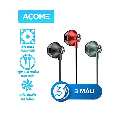 Tai Nghe Nhét Tai ACOME AW05 Âm Thanh HD Cổng Kết Nối 3.5mm - Hàng Chính Hãng