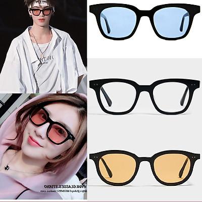kính mát chữ v thời trang nam nữ , Kính mắt  dáng vuông siêu rẻ hot trend 2021