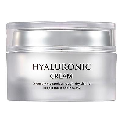 Kem Dưỡng Da Mặt Dưỡng Ẩm Dịu Da Với Chiết Xuất Từ Nha Đam AHC Hyaluronic Cream (50ml)