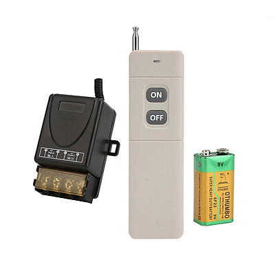 Công tắc điều khiển từ xa rf 100 đến 1000m 220V 30A có học lệnh