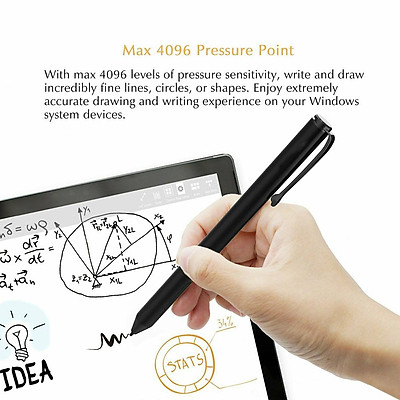 For Microsoft Surface Go Pro5/4/3/Book Capacitive Pen Stylus Pressure Sensitive Pen