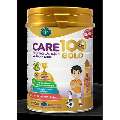 Sữa Nutricare Care 100 Gold cho trẻ biếng ăn suy dinh dưỡng 1-10 tuổi (900g)