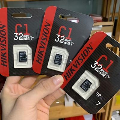 Thẻ nhớ chuyên camera Mirco SD HIKVISION  64G - 32GB - 92MB/s, chuyên ghi hình cho camera, máy ảnh, ... Hàng nhập khẩu