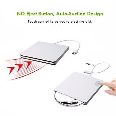 USB External CD DVD Rom RW Player Burner Drive for MacBook Air Pro iMac Mac Win8