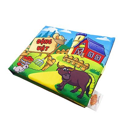 Sách vải chủ đề: Động vật nuôi (PiPô Việt Nam)
