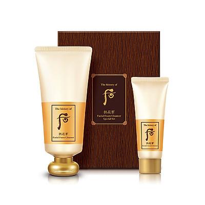 Sữa rửa mặt dưỡng ẩm The history of Whoo Gongjinhyang Facial Foam Cleanser