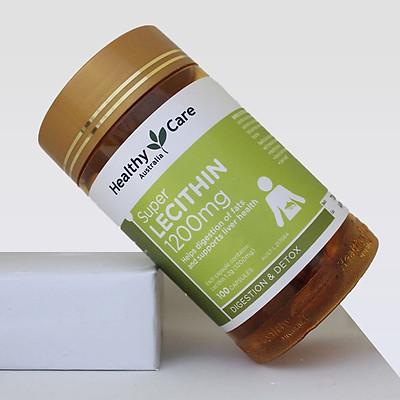 Tinh chất Mầm đậu nành Lecithin Healthy Care 100 viên (Mẫu mới)