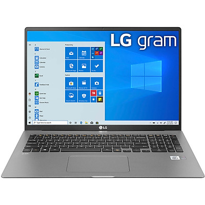 Laptop LG Gram 2021 16Z90P-G.AH73A5 (Core i7-1165G7/ 16GB LPDDR4X/ 256GB SSD NVMe/ 16 WQXGA IPS/ Win10) - Hàng Chính Hãng