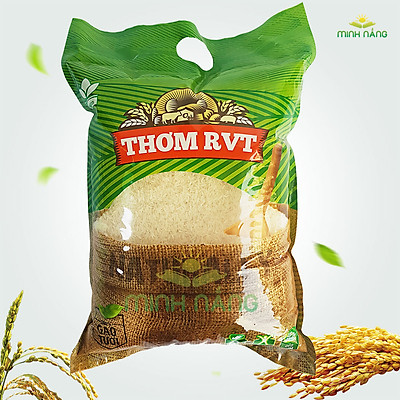 Gạo thơm RVT - bao 5kg