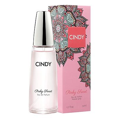 Nước hoa cho nữ Cindy Pinky Sweet mùi hương ngọt ngào trẻ trung 30ml