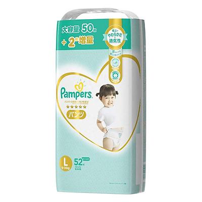 Bỉm - Tã quần Pampers Premium New size L 52 miếng (Cho bé 9~14kg)