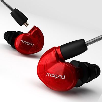 Tai nghe Moxpad X6 in-ear Monitor Bass HD - Hàng chính hãng
