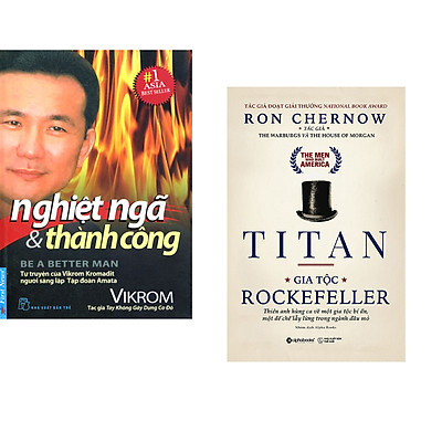 Combo 2 cuốn sách: Nghiệt Ngã & Thành Công + Titan - Gia Tộc Rockefeller + Titan - Gia Tộc Rockefeller