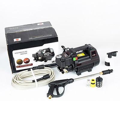 Máy rửa xe mini gia đình công suất mạnh 2800W có thể chỉnh áp, bộ máy xịt tưới cây dễ dàng sử dụng, ống bơm nước 15m, vòi bơm áp lực cao C0001B2