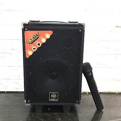 Loa Kẹo Kéo Di Động Karaoke Bluetooth Q8S Tặng 1 Micro Không Dây Hát Siêu Hay