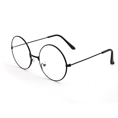 Unisex Round Glasses Frames Glasses with Clear Lens Optical Transparent Glasses
