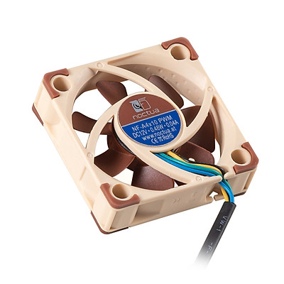Creality Noctua NF-A4x10 PWM 40mm x 10mm Ultra Quiet Silent Fan 12V 3-Pin Premium Cooling Fan for CR-10 S4/CR-10