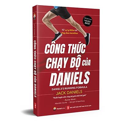 Sách - CÔNG THỨC CHẠY BỘ CỦA DANIELS( tái bản 2021)