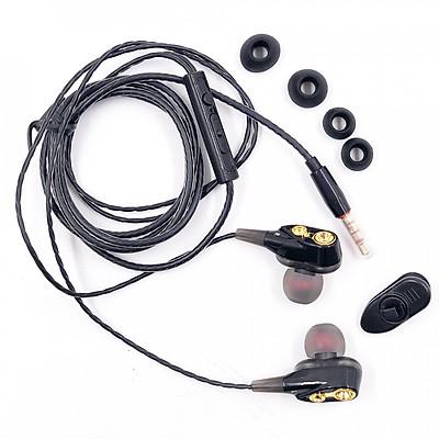 Combo Tai nghe Nhạc Chơi Game QKZ CK8, Có Mic Gaming In Ear - Hàng Chính Hãng