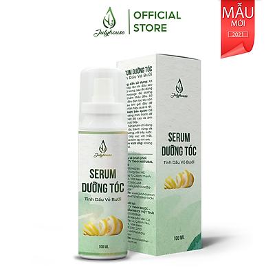 Serum dưỡng tóc tinh dầu Vỏ Bưởi 100ml JULYHOUSE giúp phục hồi tóc hư tổn, tóc dầy hơn, thành phần thiên nhiên an toàn