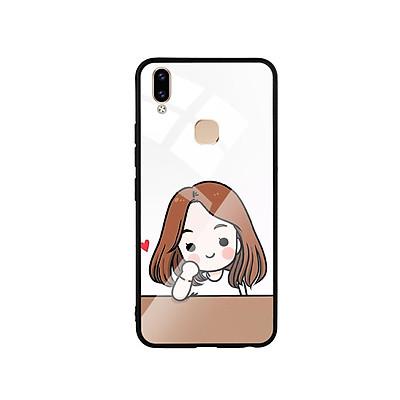 Ốp Lưng Kính Cường Lực cho điện thoại Vivo V9 - Couple Girl 03