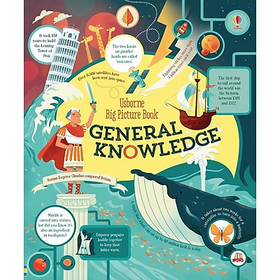 Sách tiếng Anh - Usborne Big Picture Book of General Knowledge