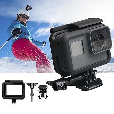 Plastic Frame Case for Gopro Hero 5/6/7 Black Camera Vertical Protection Sports Camera Portable Standard Cover