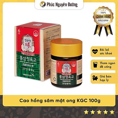 Thực phẩm chức năng Tinh chất Hồng sâm và Mật ong 100g - CKJ Korean Red Ginseng Extract With Honey Paste 100g