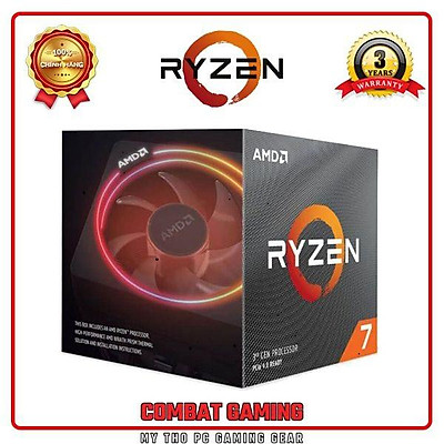 Bộ Vi Xử Lý AMD RYZEN 7 3700X BOX - HÀNG CHÍNH HÃNG