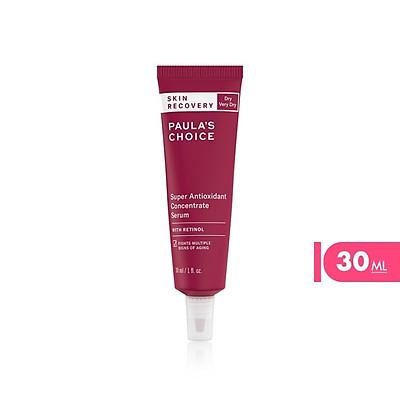 Tinh chất phục hồi da siêu chống lão hóa chứa Retinol Paula's Choice Skin Recovery Super Antioxidant Concentrate Serum with Retinol 30ml