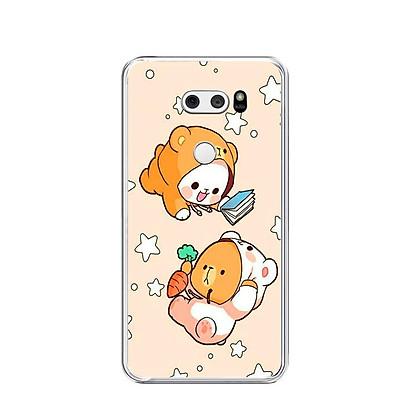 Ốp lưng dẻo cho điện thoại LG V30 - 0546 COUPLE09 - Hàng Chính Hãng