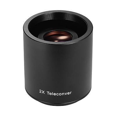 Andoer 2X Teleconverter Lens Manual Focus Converter Lens for 650-1300mm 500mm 420-800mm Camera T-mount Lenses