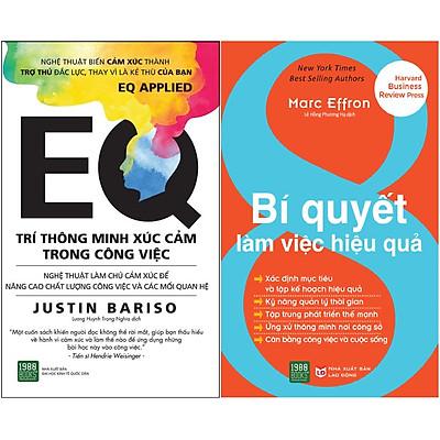 Combo EQ - Trí Thông Minh Xúc Cảm Trong Công Việc + 8 Bí Quyết Làm Việc Hiệu Quả( Tặng Kèm Bookmark Tuyệt Đẹp )