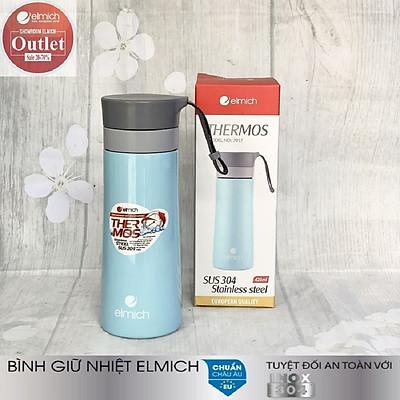 Bình giữ nhiệt Elmich, hàng chính hãng Cộng hòa Séc, Dung tích: 420ml, Chất liệu: Inox 304 - Thời gian giữ nhiệt: Từ 8h-12h liên tục - Bảo hành chính hãng: 12 tháng - Mã sản phẩm:EL-7917