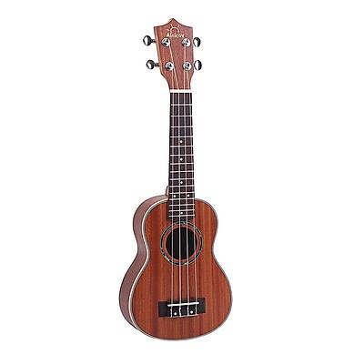 21in Hawaii Đàn Ukulele Nhỏ Guitar cho Trẻ Em Người Lớn Người Mới Bắt Đầu Học Sinh Sinh Viên