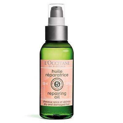 Tinh dầu dưỡng dành cho tóc khô và hư tổn L'occitane  Aroma Repairing Oil  Dry And Damaged Hair 100ml
