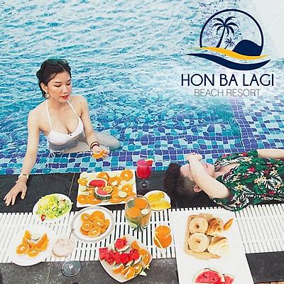 Hòn Bà Lagi Beach Resort 3* - Gói Ăn 02 Bữa, Hồ Bơi Muối Khoáng, Bãi Biển Riêng, Áp Dụng Chủ Nhật Đến Thứ 5