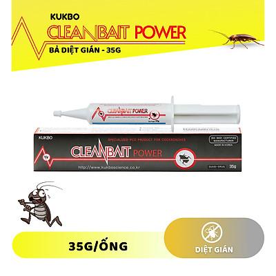 Diệt gián dạng bả Cleanbait Power 35gr xuất xứ Hàn Quốc