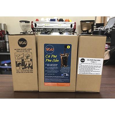 Cà phê pha sẵn YGU 01, Cold Brew Cafe, hộp 2 Kg