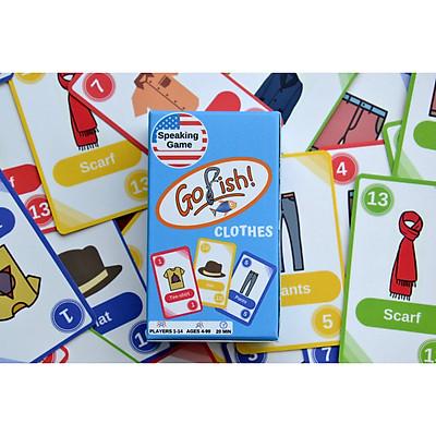 Go Fish Games - Boardgames for speaking practice - Trò chơi luyện kỹ năng nói tiếng Anh, nhiều chủ đề, phù hợp nhiều độ tuổi