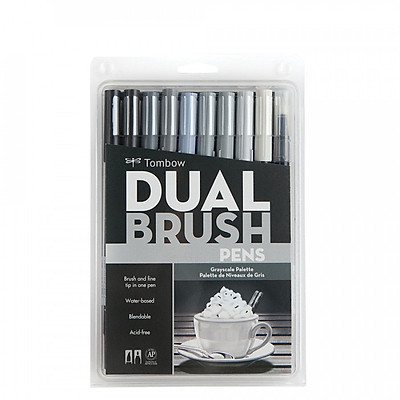 Set 10 bút Tombow ABT Dual Brush