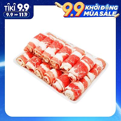 [Chỉ Giao HCM] - Ba Chỉ Bò Mỹ Cuộn - Khay 500g