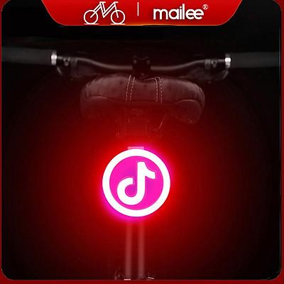 Đèn Đuôi Xe Đạp Cảnh Báo Phía Sau Cho Xe đạp Sạc Điện USB Chống Nước Trang Trí