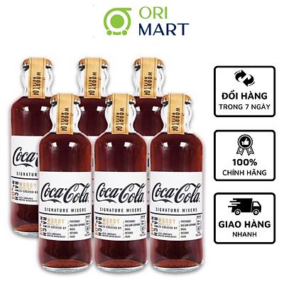 Combo 6 Chai Coca - Cola Sig Mixers Vị Gỗ Woody (Chai 200ml)
