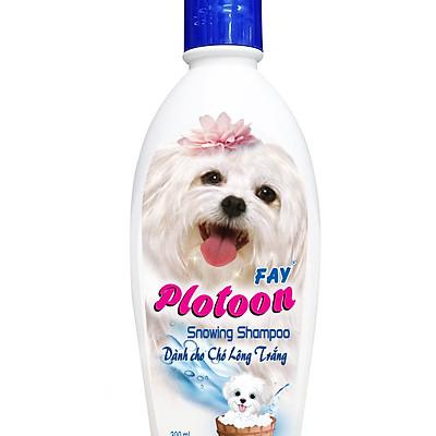 Dầu tắm Fay Plotoon Snowing - Dành cho thú lông trắng