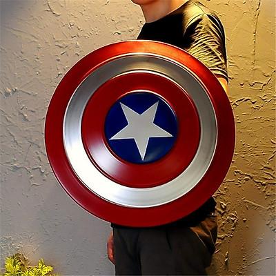 Mô Hình Khiên Captain America tỉ lệ 1:1 Thép Nguyên Khối