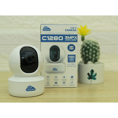 Camera IP Vitacam C1280 3.0 Mpx Ultra HD - Hàng Chính Hãng
