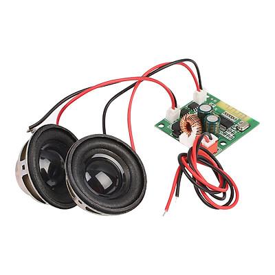 Bảng Khuếch Đại Âm Thanh Bluetooth Kèm Loa Cho Xe Ô-tô